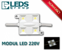 Moduł LED SMD 220-230V IP67