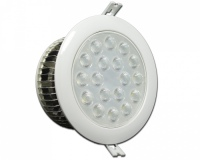 Lampa Downlight LED 18W Barwa: Zimna